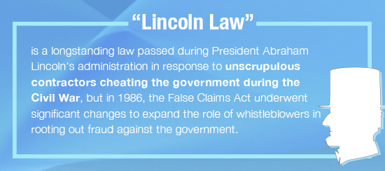 lincoln law false claims act