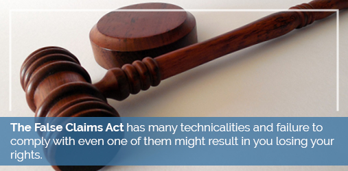 false claims act technicalities