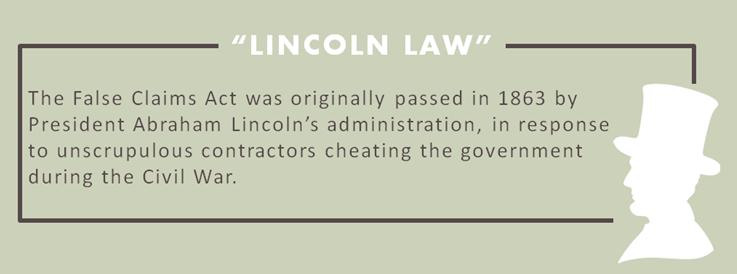 What is the False Claims Act?   Goldberg Kohn
